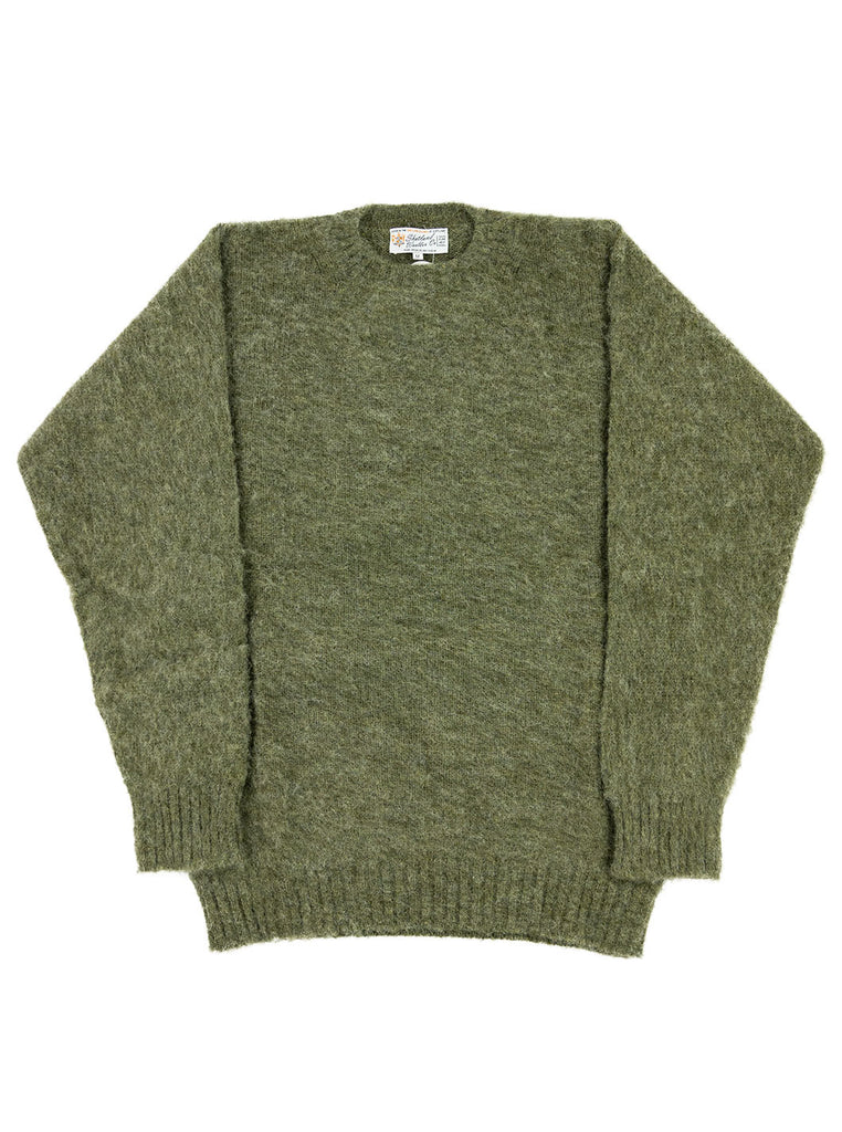 Shetland Woollen Company Shaggy Dog Artichoke Made in Scotland The Northern Fells Clothing Company Full