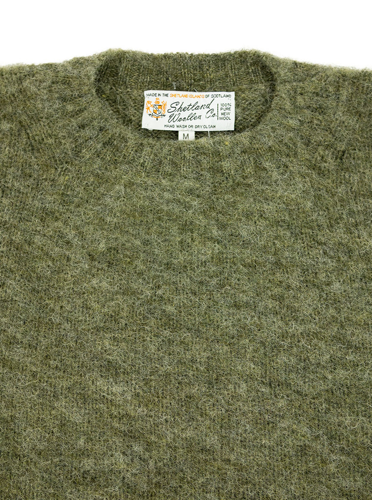 Shetland Woollen Company Shaggy Dog Artichoke Made in Scotland The Northern Fells Clothing Company Neck