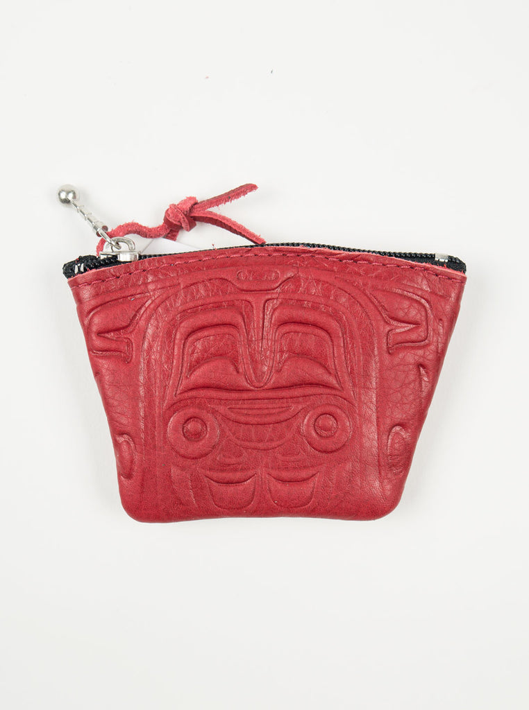 Spirit of the Wild - Deer Skin Coin Purse - Red - Northern Fells