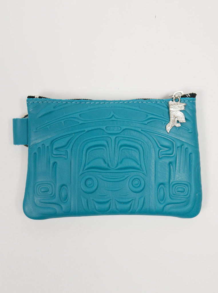 Spirit of the Wild - Leather Purse - Turquoise - Northern Fells
