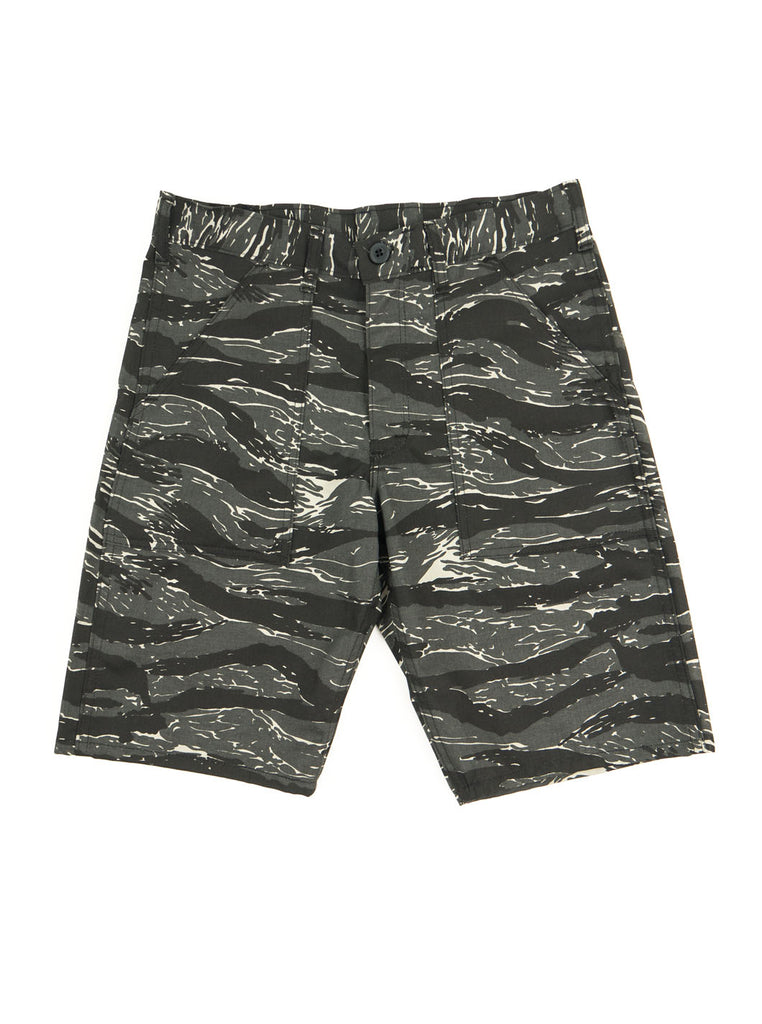 Stan Ray 5500 Fatigue Short Black Tigerstripe The Northern Fells Clothing Company Full