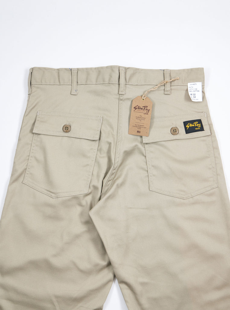 Stan Ray Original Fit Fatigue Pant Khaki Twill AW1108 The Northern Fells Clothing Company Back