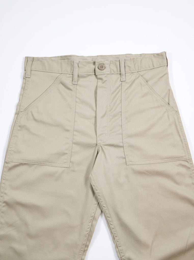 Stan Ray Original Fit Fatigue Pant Khaki Twill AW1108 The Northern Fells Clothing Company Front
