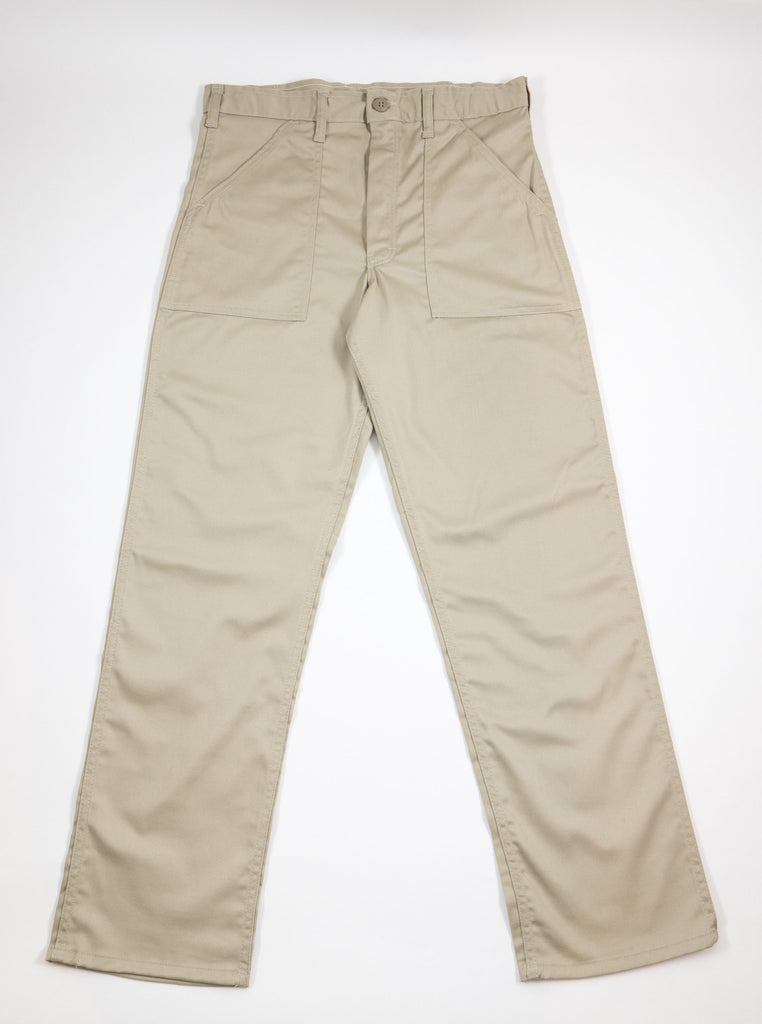 Stan Ray Original Fit Fatigue Pant Khaki Twill AW1108 The Northern Fells Clothing Company Full