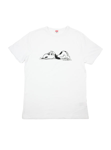 TSPTR 718A Snoopy Buy The Ticket White T-Shirt The Northern Fells Clothing Company Full