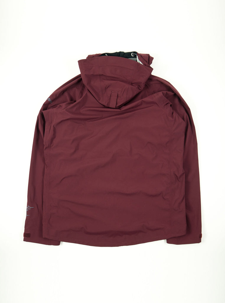 Teton Bros. Tsurugi Pullover Jacket Dark Red The Northern Fells Clothing Company Back