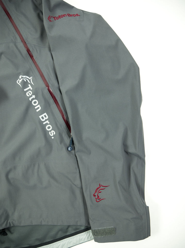 Teton Bros. - Tsuguri Pullover Jacket - Grey/ Red - Northern Fells