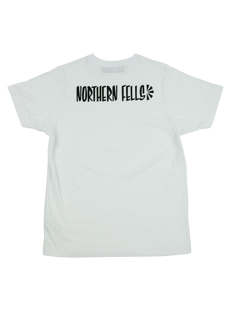 The Northern Fells Clothing Company Logo Back Tee White Back