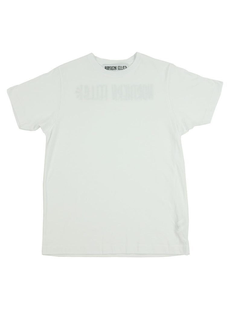 The Northern Fells Clothing Company Logo Back Tee White Full