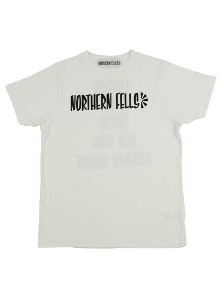 The Northern Fells Clothing Company Skiddaw Tee White Full
