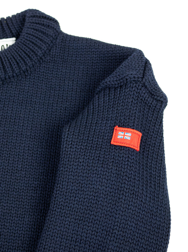 The Northern Fells Clothing Company Titanic Sweater Navy Ensign