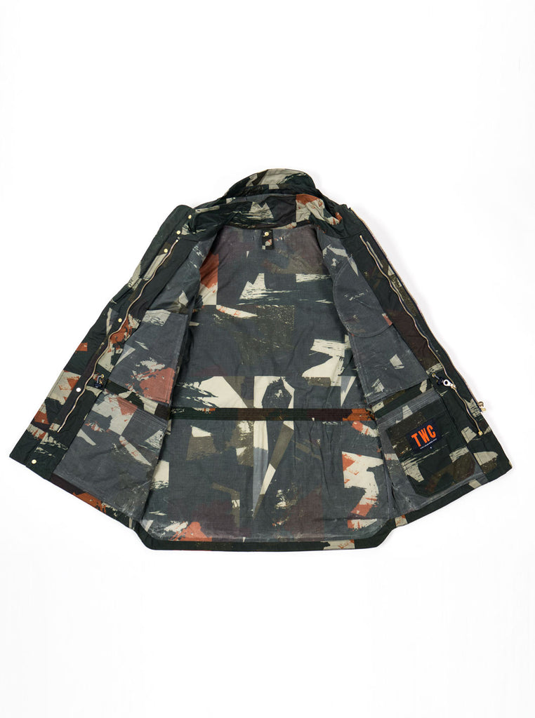 "alt=""The-Workers-Club-Abstract-Camo-Shell-Ltd-Edition-Jacket-Multi-internal"""