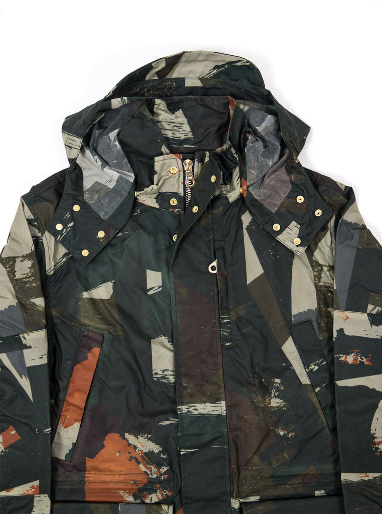 "alt=""The-Workers-Club-Abstract-Camo-Shell-Ltd-Edition-Jacket-Multi-neck"""
