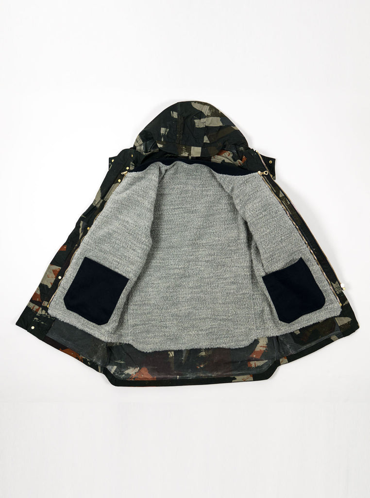 "alt=""The-Workers-Club-Abstract-Camo-Shell-Ltd-Edition-Jacket-Multi-with-liner"""