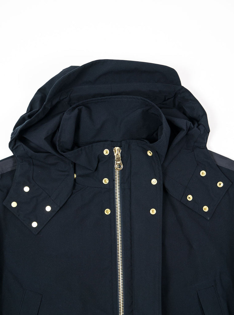 "alt=""The-Workers-Club-Shell-Jacket-Navy-main-the northern-fells-clothing-company-neck-open"""