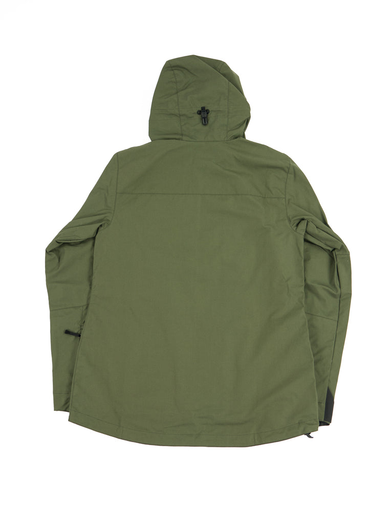 Tilak Frigg Olive Ventile The Northern Fells Clothing Company Back