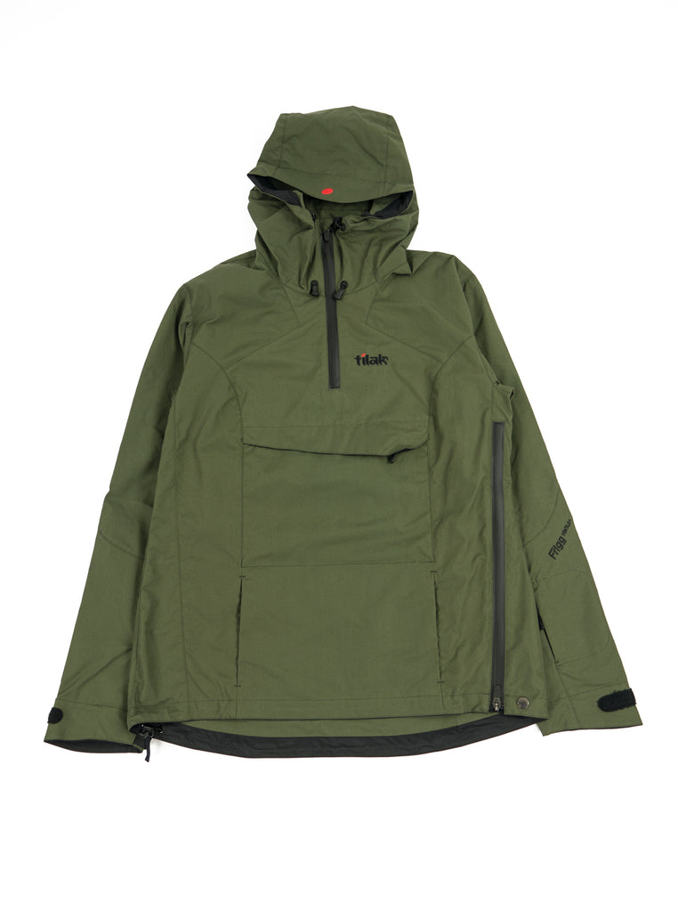 Tilak Frigg Olive Ventile The Northern Fells Clothing Company Full
