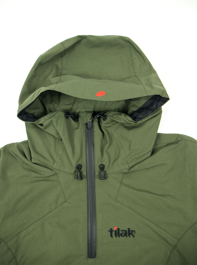 Tilak Frigg Womens Olive The Northern Fells Clothing Company Hood
