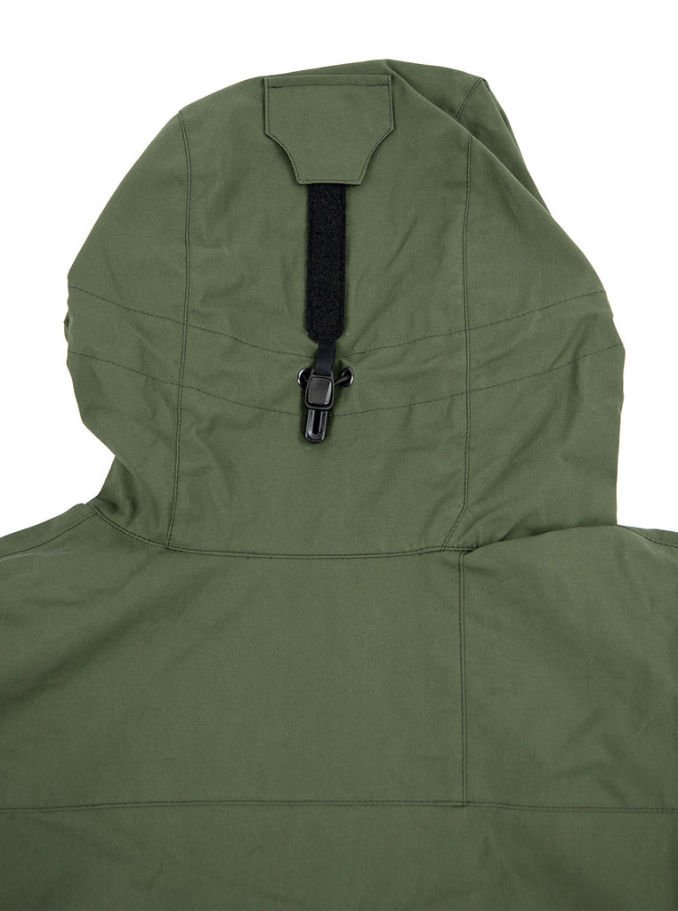 Tilak Odin Olive Ventile The Northern Fells Clothing Company Back
