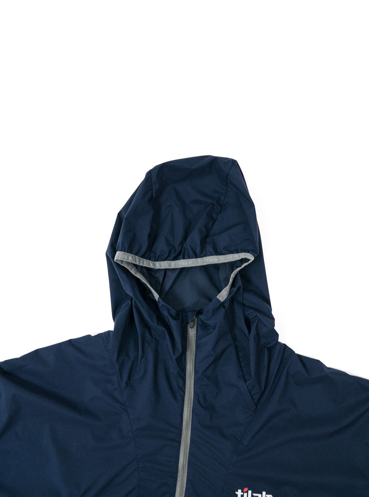 "alt=""Tilak-Odin-Ultra-Lightweight-Hooded-Pertex-Jacket-Navy-Northern-fells-hood"""
