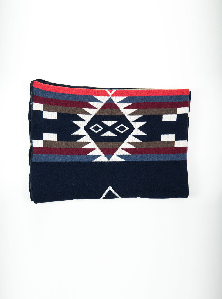 Tom & Hawk Blanket Navy The Northern Fells Clothing Company 1