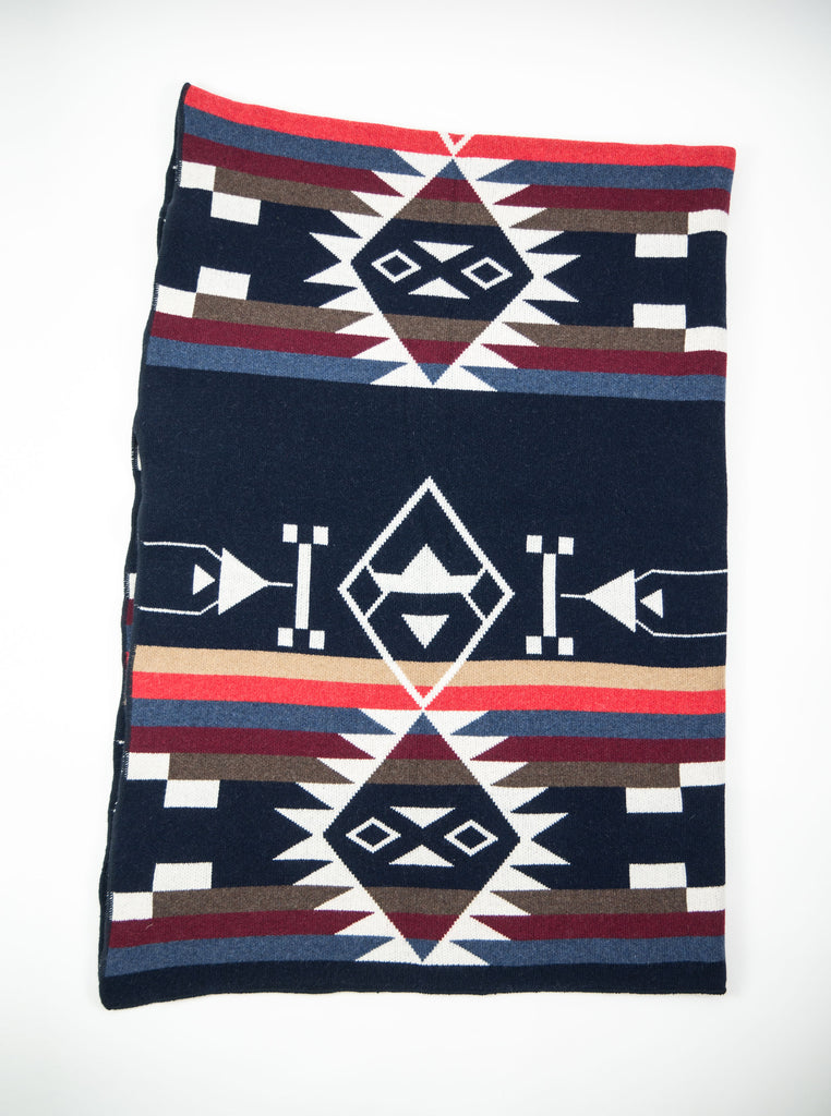 Tom & Hawk Blanket Navy The Northern Fells Clothing Company 2