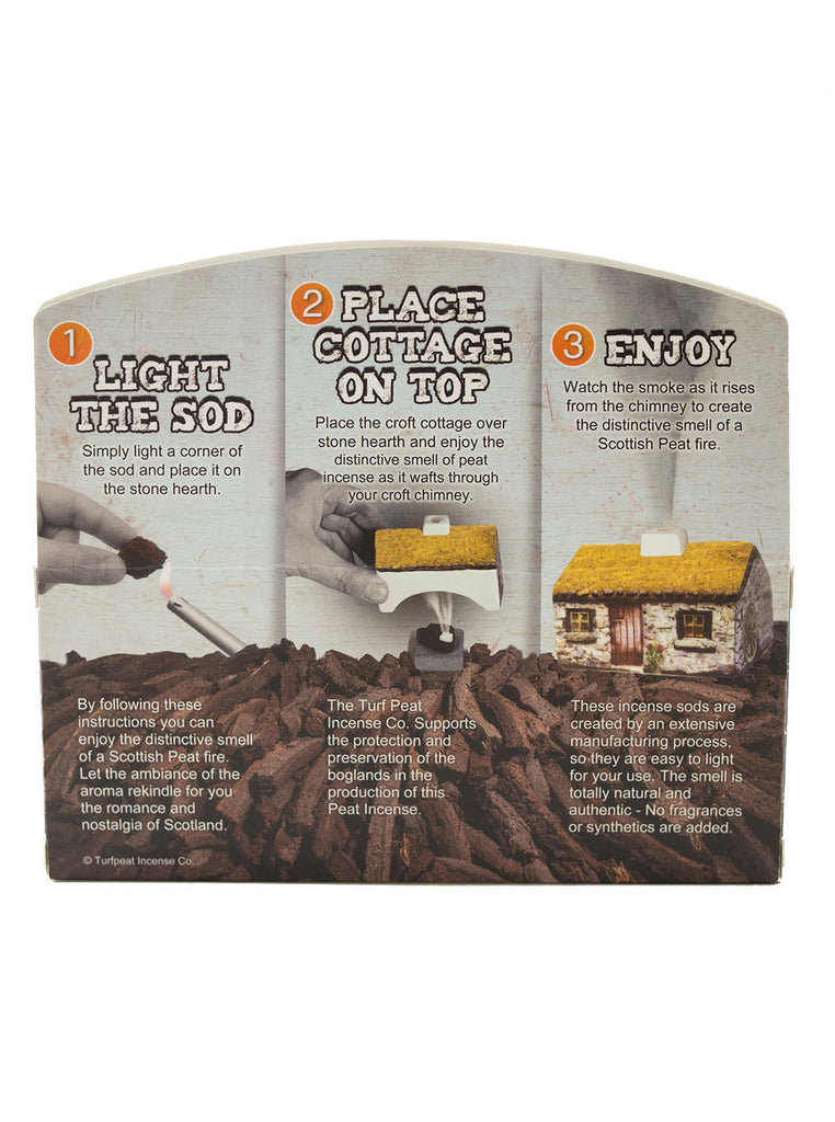 Turf Peat Incense - Scottish Cottage - Northern Fells