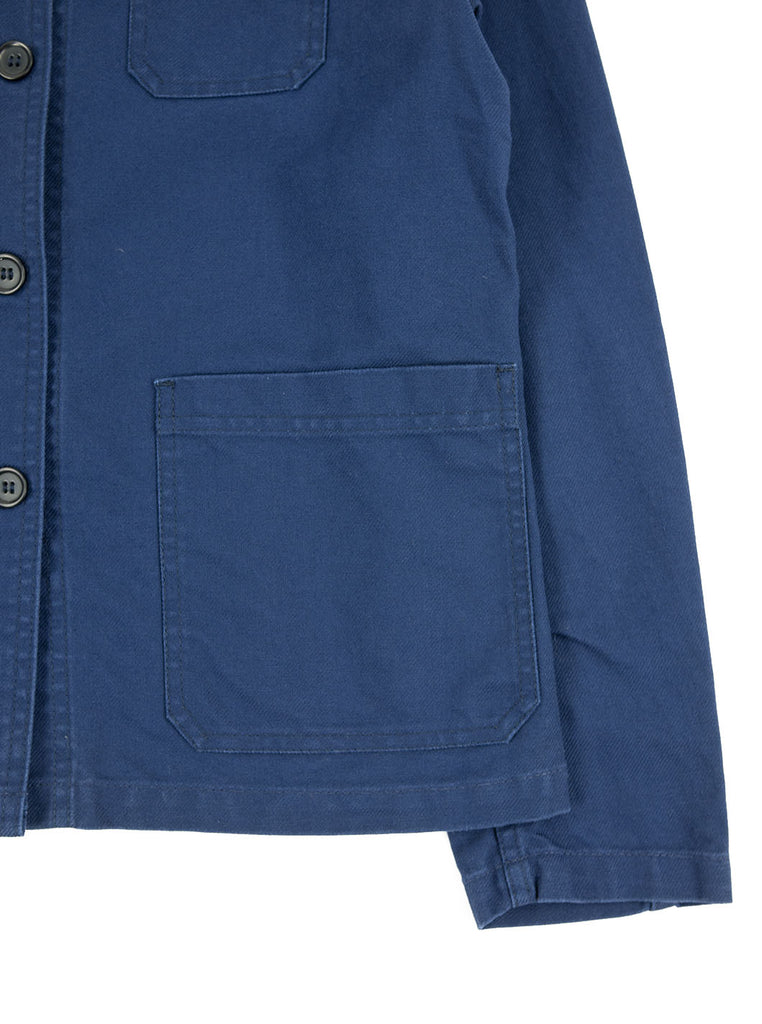 Vetra Women's - No 4 Dungaree Wash Twill Cotton Work Jacket - Dark Navy - Northern Fells