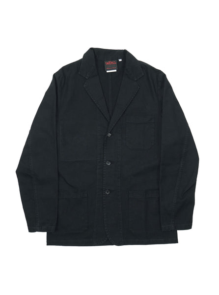 Vetra Blazer Work Jacket French Black Made in France The Northern Fells Clothing Company Front