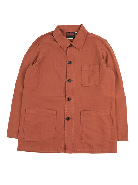 Vetra - No 4 Dungaree Wash Cotton Twill Work Jacket - Quince - Northern Fells