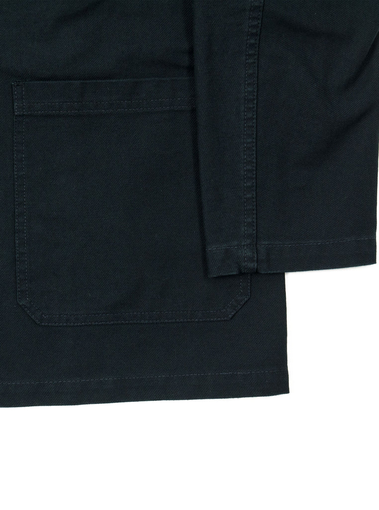 Vetra - No 4 Dungaree Wash Twill Cotton Work Jacket - Black - Northern Fells
