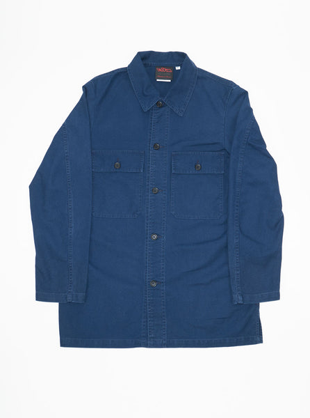 Vetra-Work-wear-Cotton-blue-shirt-Made-in-France