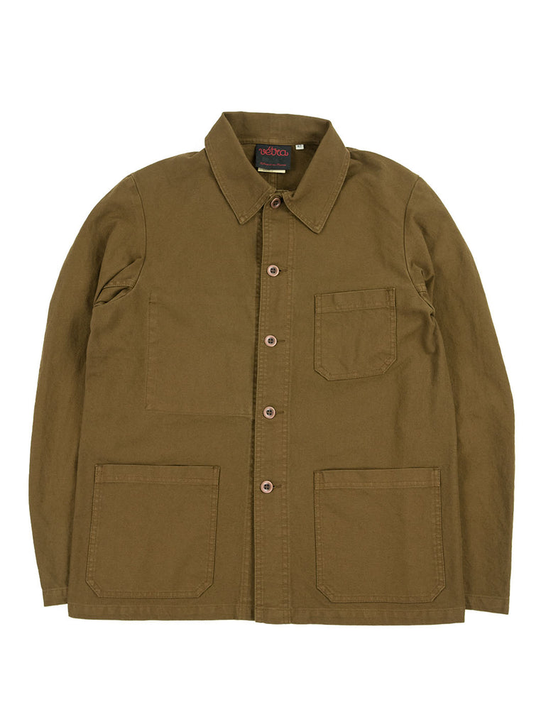 Vetra - 5C Short Dungaree Wash Cotton Twill Work Jacket - Camel - Northern Fells