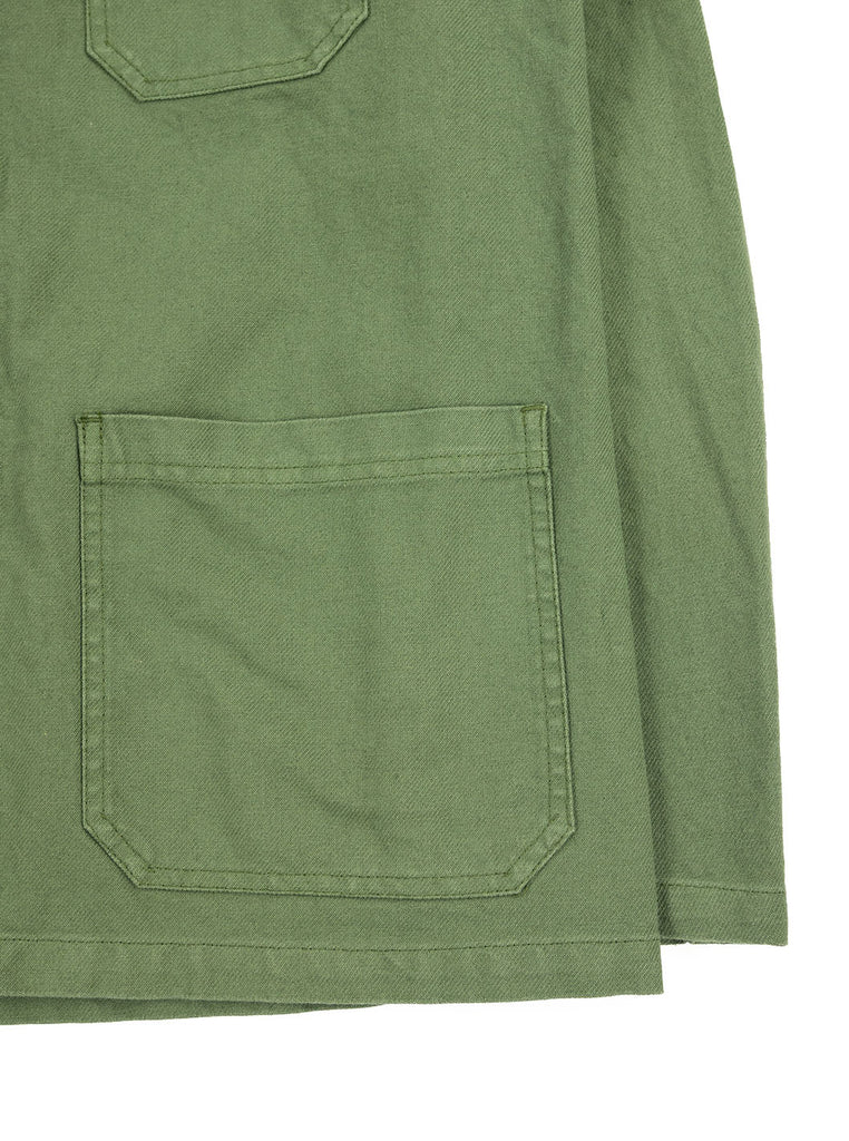 Vetra - 5C Short Dungaree Wash Cotton Twill Work Jacket - Jade - Northern Fells