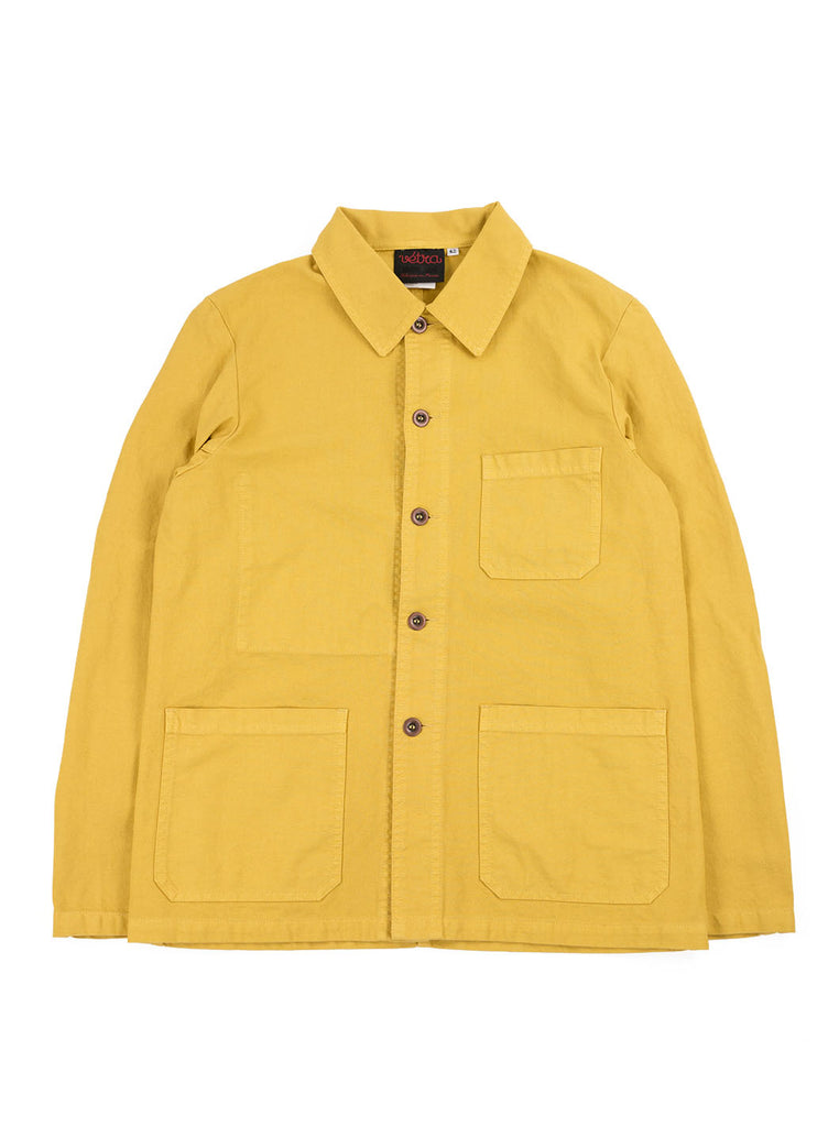 Vetra - 5C Short Dungaree Wash Cotton Twill Work Jacket - Pineapple - Northern Fells