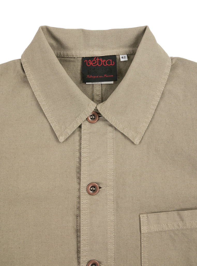 Vetra - 5C Short Dungaree Wash Cotton Twill Work Jacket - Rigging - Northern Fells