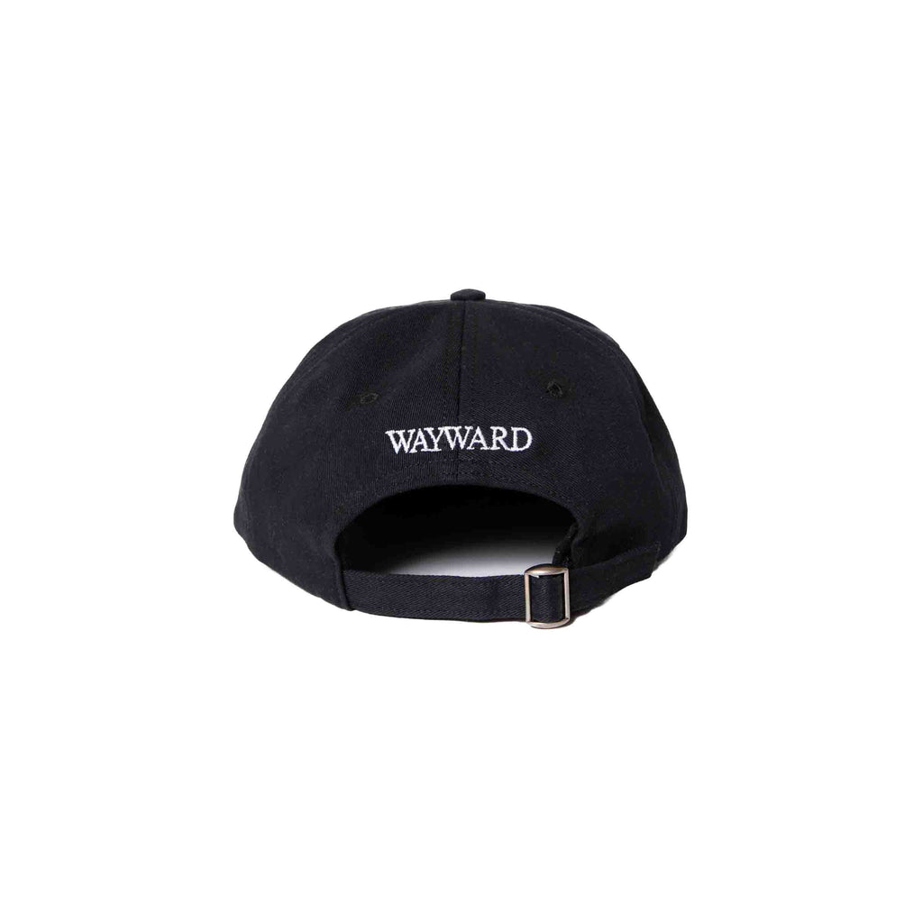 Wayward Walphy Cap Black The Northern Fells Clothing Company Back