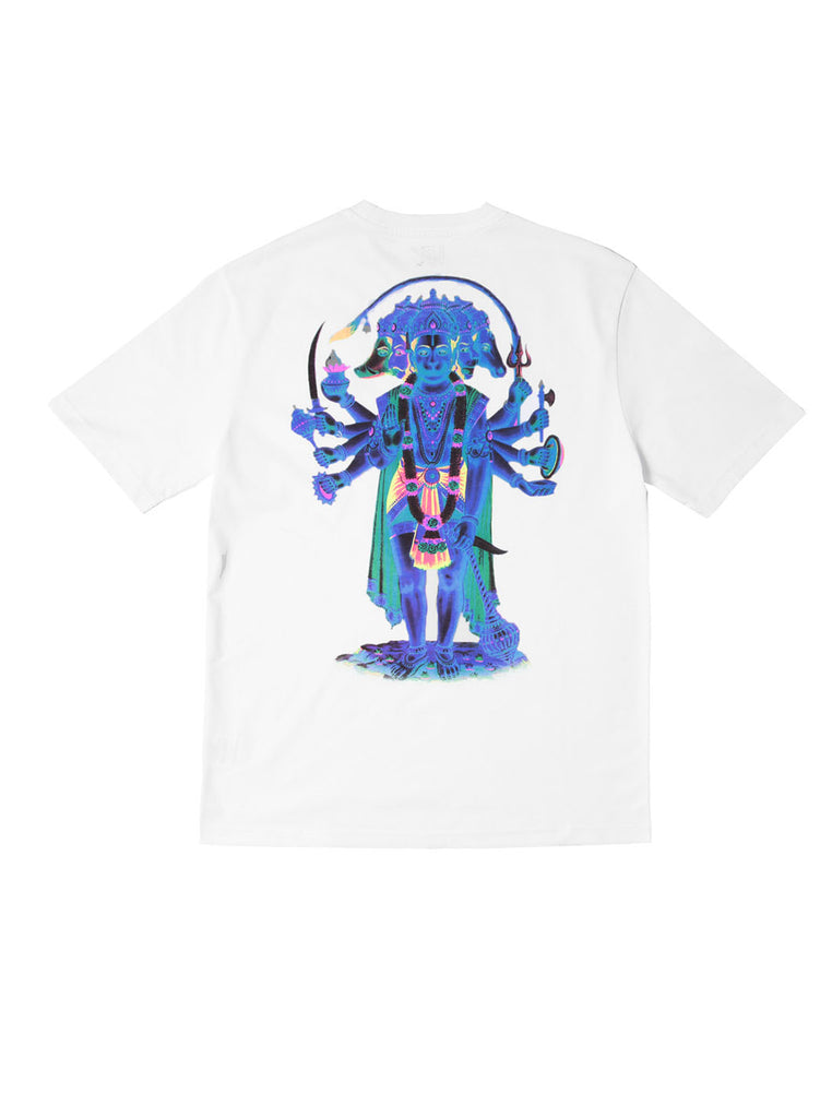 Wayward wwsg0020 Hanumandem Short Sleeve T-Shirt White The Northern Fells Clothing Company Back
