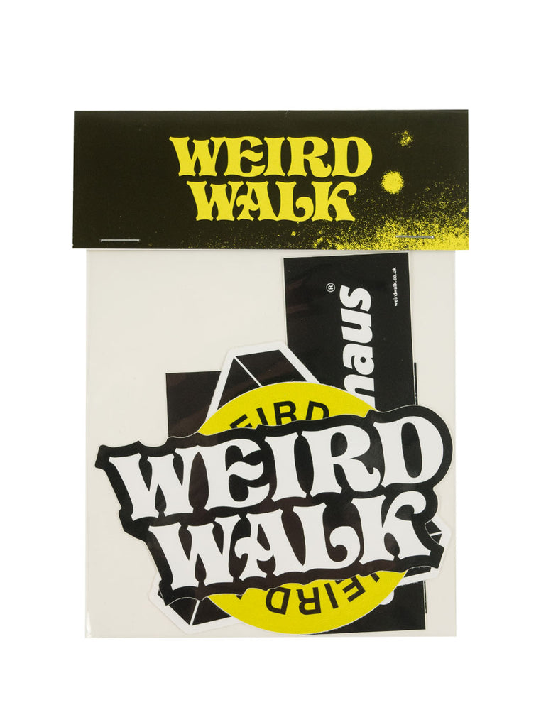 Weird Walk Sticker Pack The Northern Fells Clothing Company Front