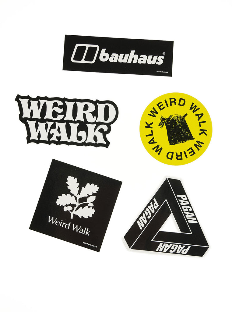 Weird Walk Sticker Pack The Northern Fells Clothing Company Stickers