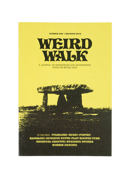 Weird Walk Zine Number 1 The Northern Fells Clothing Company Front