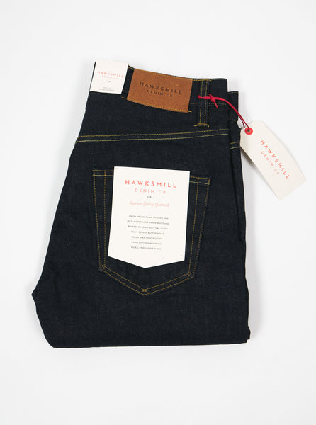 "alt=""hawksmill-denim-co-LCKGJN-02-14oz-organic-crinkle-rinse-indigo-REGULAR-JEAN-the-northern-fells-clothing-company"