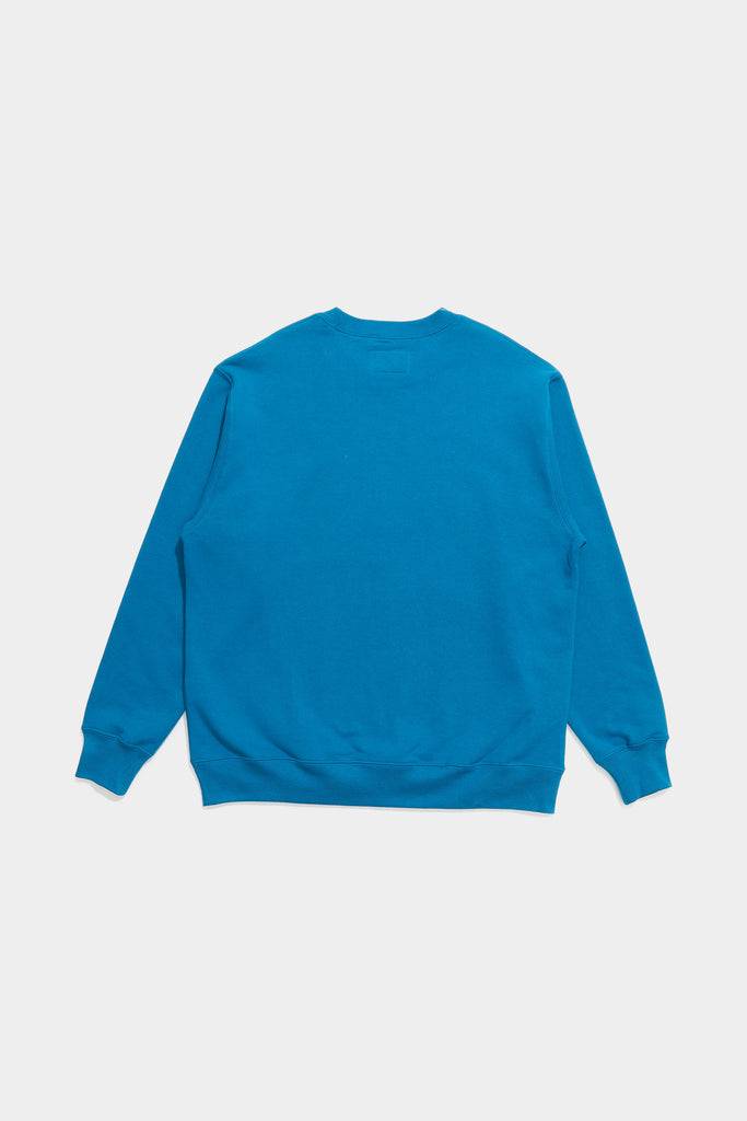 Adsum -  Core Logo Crewneck - Turquoise - Northern Fells