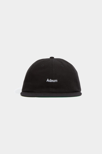 Adsum - Piece Dyed Logo Hat - Black - Northern Fells