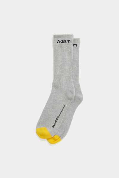 Adsum - Gold Toe Sock - Grey Marl - Northern Fells