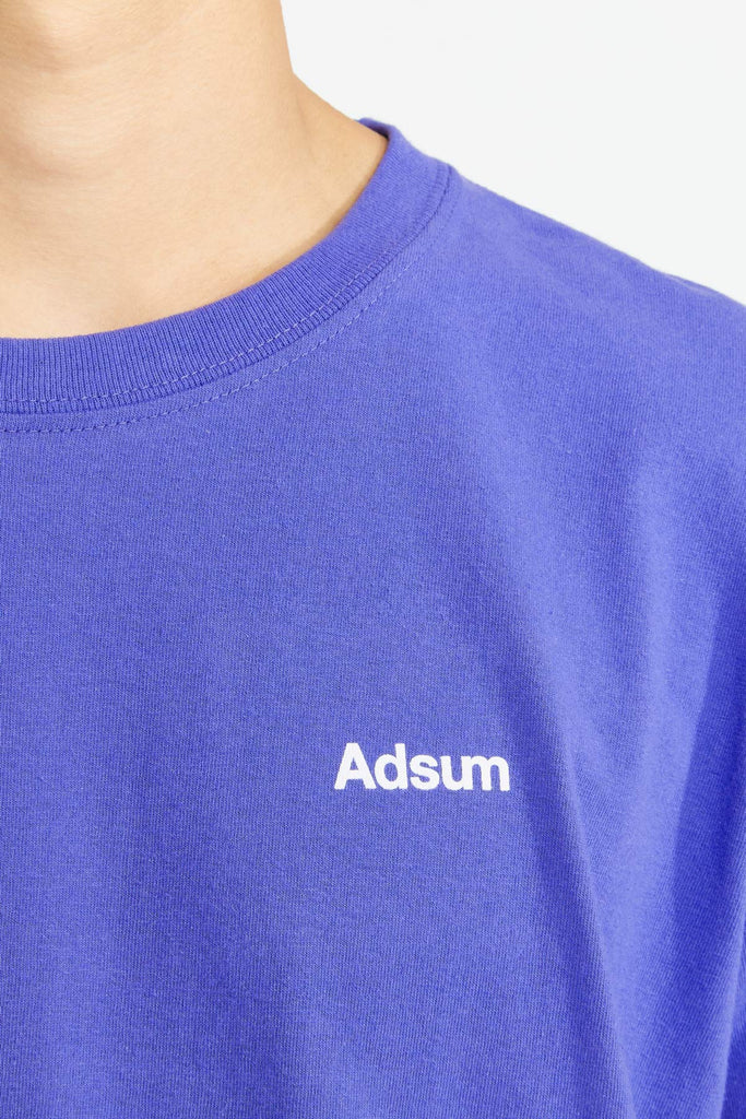 Adsum - Core Logo T-Shirt - Perriwinkle Blue - Northern Fells