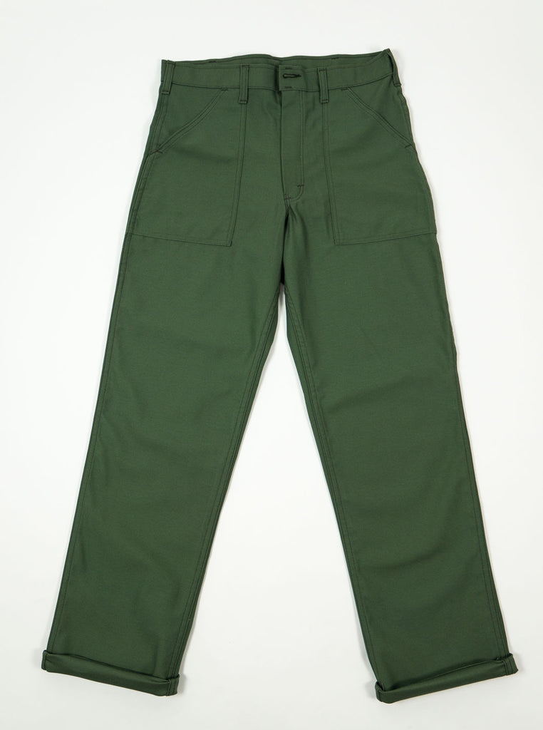 Stan Ray - OG107 4 Pocket Fatigue Pant 8.5oz - Olive Drab Sateen - Northern Fells