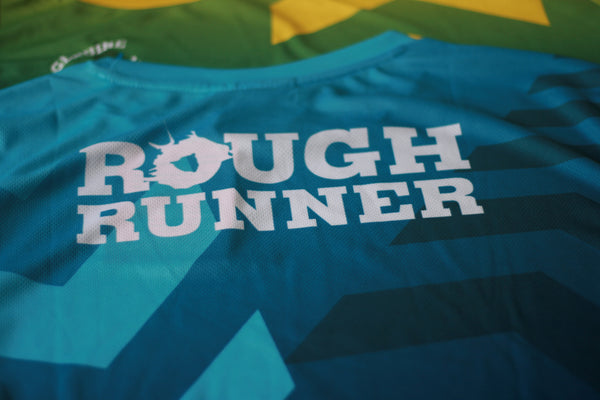 Rough Runner Female BLUE Technical T-Shirt