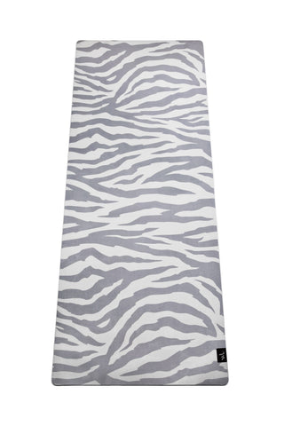 Yoga Mat Zebra - Grey