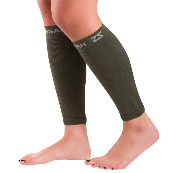 Compression Leg Sleeves - Army Green